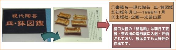 樋口大桂掲載書籍・現代陶芸皿鉢図鑑