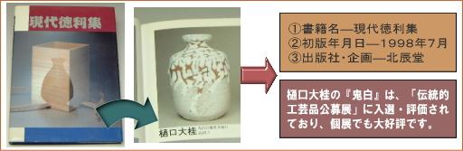 樋口大桂掲載書籍・現代徳利集
