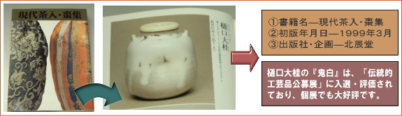 樋口大桂掲載書籍・現代茶入棗集