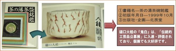 樋口大桂掲載書籍・茶の湯茶碗銘鑑